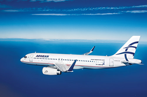 Aegean Airlines: скидки до 40% на рейсы между Россией и Грецией