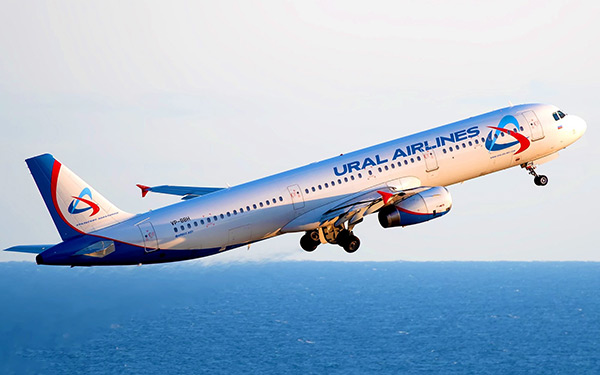 «Уральские авиалинии» начинают выполнять регулярные рейсы в Республику Таджикистан и обратно с 31 августа