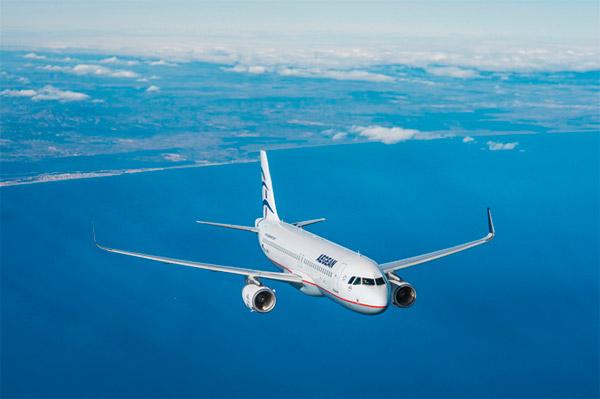 Aegean Airlines: скидки до 50% на все международные направления при бронировании до 30 августа
