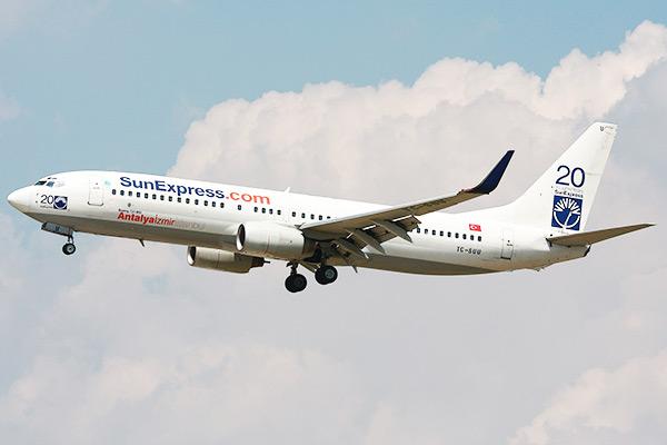 SunExpress: прямые рейсы из «Пулково» в турецкий Измир